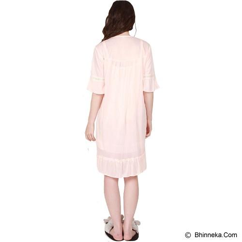 YOU'VE Andrea Lace Sleepwear [010] - Cream - Baju Tidur Wanita Terusan